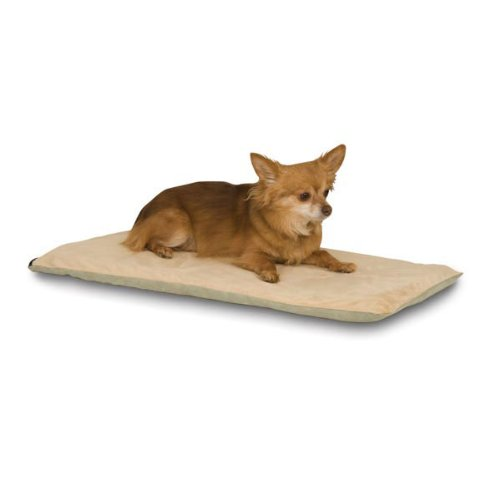 - K&H Pet Products Thermo-Pet Mat Heated Pet Bed Sage 14