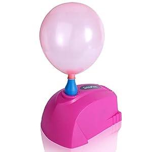 Deeplee Mini Pompe à Ballon, Gonfleur Ballon 300W Portable Pompe électrique pour Ballons de baudruche, Fête, Mariage et…