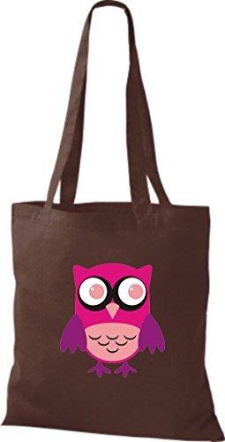 Women Cotton Fabric Brown For Shirtinstyle Bag Brown qITwxpU