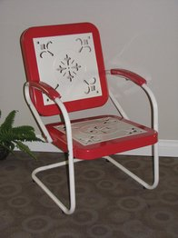 4D Concepts 71540 Metal Retro Chair (Retro Chair Patio)