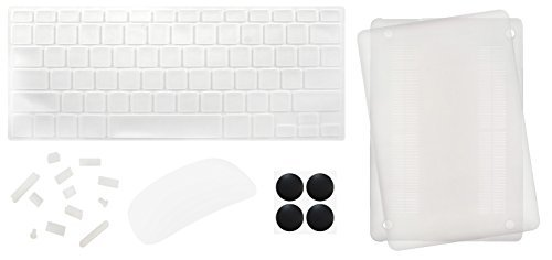 Silicon Anti-Dust Plug Cover for MacBook Pro Air (Transparent) - 8