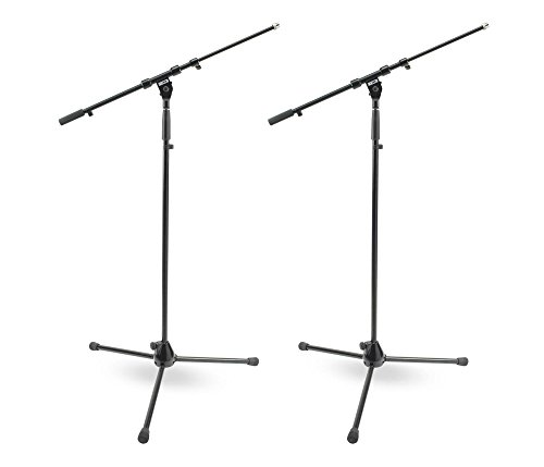 (DR Pro Tripod Mic Stand with Telescoping Boom - 2 Pack)