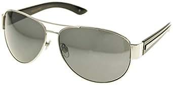 Amazon.com: Dockers Mens Aviator Sunglasses One Size