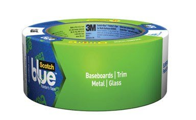 3M 2093EL2N Masking Tape with Edge-Lock, 60 yds Length x 2