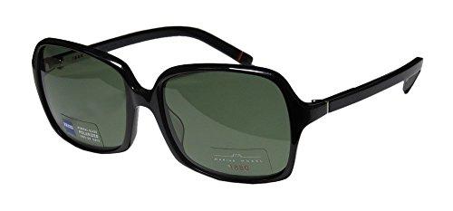 Marius Morel 1880 2001m Womens/Ladies Designer Full-rim Sunglasses/Sun Glasses (56-18-135, Black)