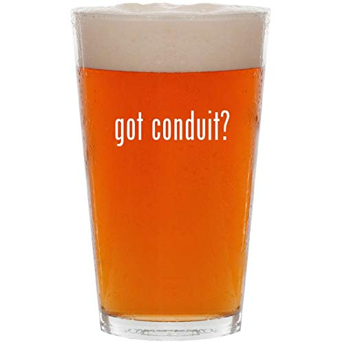got conduit? - 16oz All Purpose Pint Beer Glass
