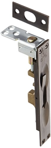(Rockwood 557.10B Lever Extension Flush Bolt for Fire-Rated Plastic & Wood Covered Doors, 1