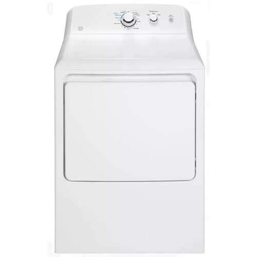 GE GTD33GASKWW 7.2 Cu. Ft. White Gas Dryer (Certified Refurbished)