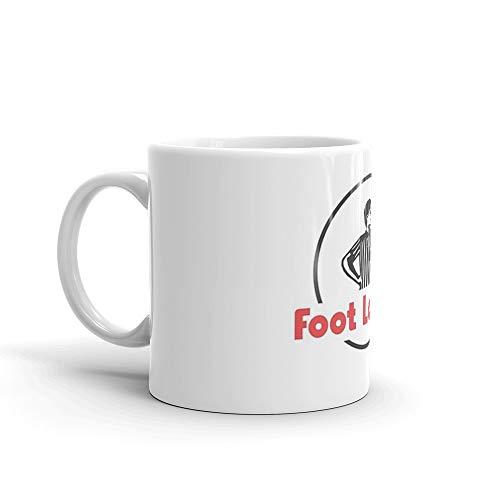 Foot Locker Mug 11 Oz White Ceramic