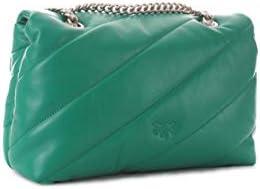 Pinko Love Classic Puff Maxi Quilt borsa da donna light green, 1P21VP-Y6JK