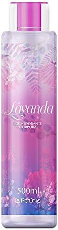 Desodorante Corporal Lavanda, Petúnia, 500 Ml, Petunia