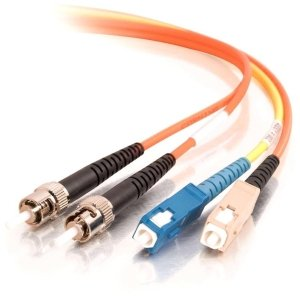 C2G/Cables to Go 27002 Mode-Conditioning SC/SC Fiber Patch Cable (3 Meters, Orange)