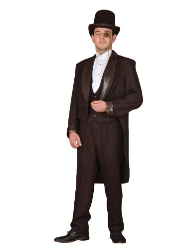 Men's Steampunk Jackets, Coats & Suits  Steampunk Theatrical Victorian Costume Suit  AT vintagedancer.com