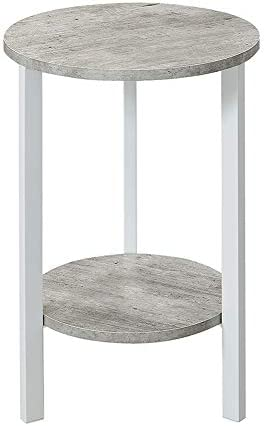 Convenience Concepts Graystone Plant Stand, 24 , Faux Birch White