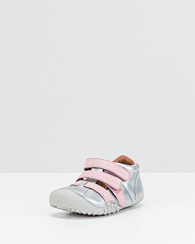 Bundgaard Kids Bixi Sandal Silver/Old Rose 19