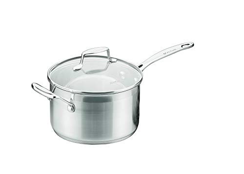 Scanpan 71232000 Impact Saucepan,20cm/3.5 Litre Capacity,Silver