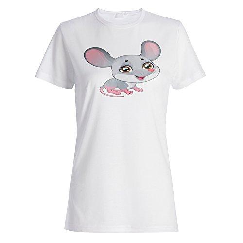 Ich liebe nette Haustier-lustige Neuheit-neue Tier-Maus Damen T-shirt c921f