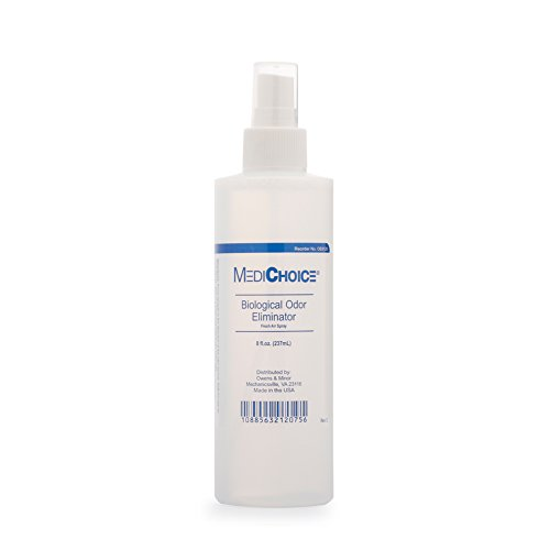 MediChoice Biological Odor Eliminator, Scented, Pump Spray, 8 Oz, 1314OE8120 (Each of 1)
