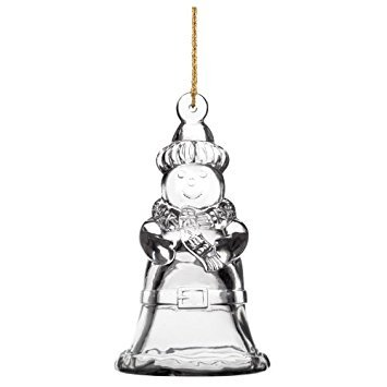 Marquis By Waterford 2013 Christmas Tree Bell Ornament, 3.75-Inch