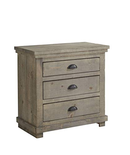 Progressive Furniture Willow Nightstand, Weathered Gray (Willow Furniture)
