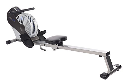 Stamina Air Rower (Black, Chrome) (Ats Rowing Machine)