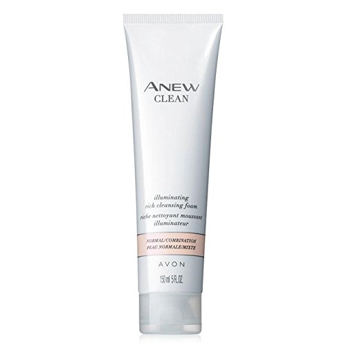 Anew Clean Illuminating Rich Cleansing Foam 5 fl.oz. lot 2 tubs ()