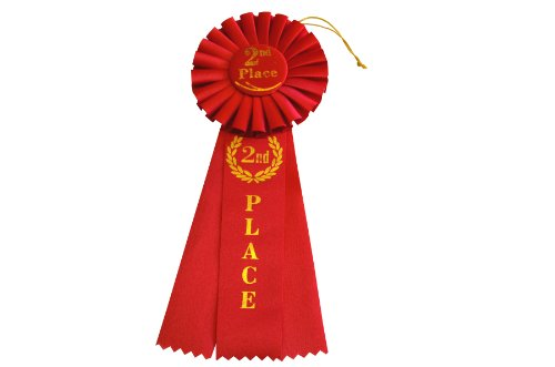 Small Rosette - Hayes Specialties Corp. 2nd Place Rosette Ribbon