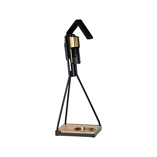 RBT B1-00116 Black Brass Tabletop Corkscrew Puller