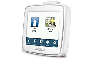 "TomTom EASE Refurbished Portátil/Fijo 3.5"" LCD Pantalla táctil 125g Blanco navegador - Navegador GPS (Interno, Canadá, EE.UU., 8,89 cm (3.5""), 320 x 240 Pixeles, LCD, 4:3)"