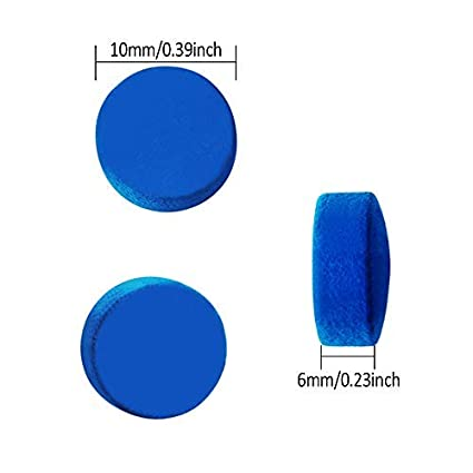 Blue Cue Tips or Red Cue Tip Kulannder 30 Pcs Pool Cue Tips 10mm //12mm Billiard Cue Stick Replacement Tips with Clear Box for Snooker Pool Cues
