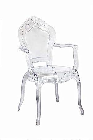 Keyhomestore PAR Dos sillones de Estilo Barroco con ...