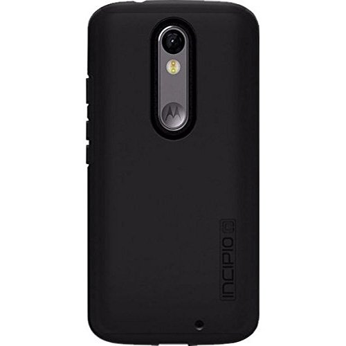 Incipio DualPro Original Dual Layer Protective Case for Motorola Droid Turbo 2 - Black