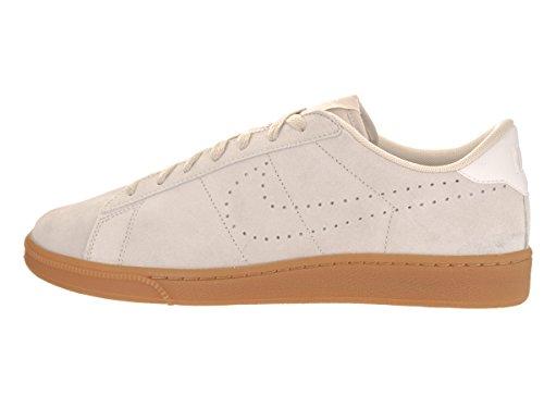 Nike Tennis Classic Cs Camoscio Mens Sneaker In Vera Pelle Grigio 829351 100 Beige