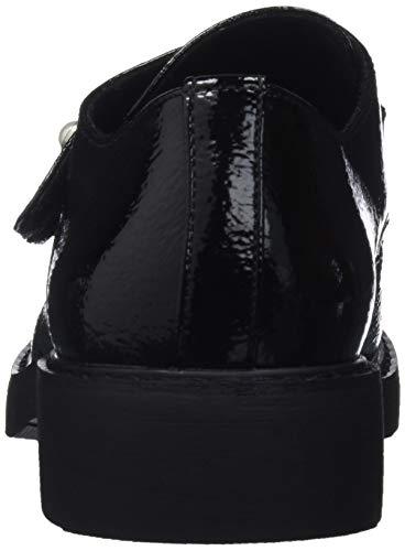 Textral Maria Mare C42365 Derbys Damen 62102 Schwarz Negro XfwXrF