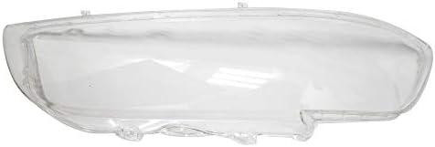 Lasamot Una Coppia di coperture del Faro Shell Lente in Vetro Trasparente Lente del proiettore 6312837530 63128375302 per BMW Serie 5 E39 518 520 523 52