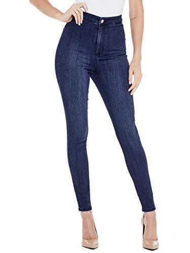 GUESS Factory Women's Nova Ultra High-Rise Curve Jeans ()