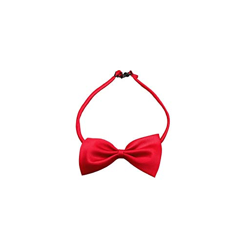 (Casual-Life New Candy Colors Fashion Cute Dog Puppy Cat Kitten Pet Toy Kid Bow Tie Necktie Clothes Decoration pet Accessories,G,M)