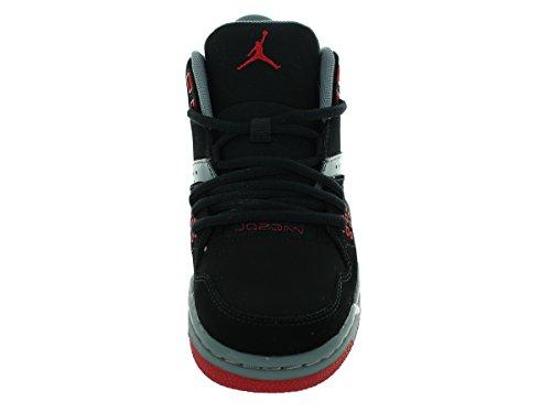 Nike Jordan Flight 23 Bg, Scarpe sportive, Multicolore (Black/Gym Red-Cool Grey-White), 36.5
