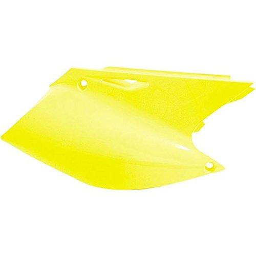 Acerbis Side Panels Yellow for Suzuki RM125 RM250 01-02 (Panels Side Suzuki)