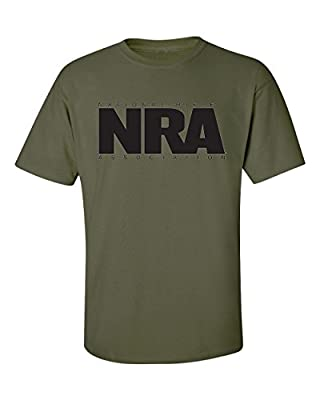 NRA Solid Logo Tee - Officially Licensed