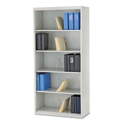 Bookcase 5 Shelf Light (HON J625CNQ 600 Series 36 by 16-3/4 by 75-7/8-Inch Jumbo Open File, 5-Shelf, Steel, Legal, Gray)