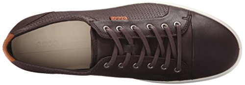 ECCO Herren Soft 7 Fashion Sneaker Kaffee perforiert