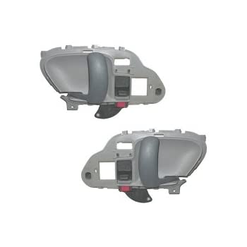 1995 2000 chevy gmc silverado sierra suburban inside door handles gray pair for 1999 suburban interior door handle