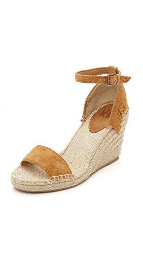 FRYE Women Lila Feather Espadrille Wedge Sand