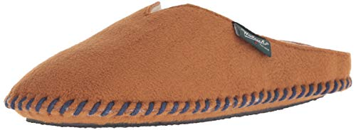 Woolrich Women's Fleece Mill Scuff Slipper, Cathay Spice, M M US