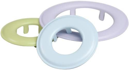 Blue, Green & Purple Round Grommets // Making Memories
