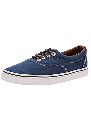 oodji Baumwoll Ultra Basic Sneakers Blau 7900N Herren rFr4x0wqz