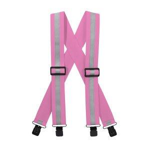 (Reflective Suspenders-Pink)