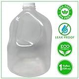 BPA Free 1 Gallon Water Jug Bottle Reusable Leak Proof. Free Cap Environmentally Friendly