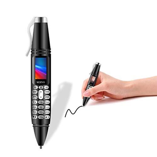 SERVO K07 Mini Pen Cellphone Dual SIM Camera Flashlight Bluetooth Dialer Mobile Phones with Recording Pen Unlocked…